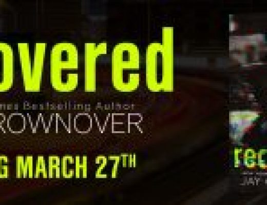 Cover Reveal of RECOVERED by Jay Crownover