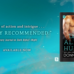 Release day launch for Dark Alpha's Hunger by Donna Grant