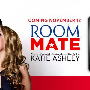 Cover reveal of Room Mate by Katie Ashley