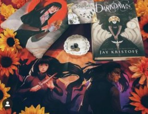 """Bookish Spotlights: Review of Fox & Wit's """"Mini DarkDawn"""" box"""