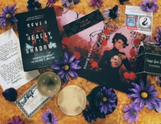 """Bookish Spotlights: Review of Fox & Wit's January Monthly YA Box """"Japanese Death Gods"""""""