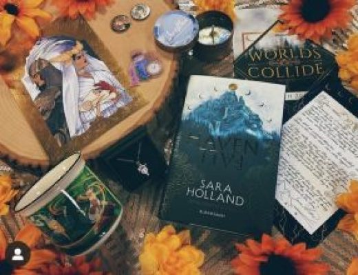 "Bookish Spotlights: Review of illumicrate's ""Worlds Collide"" March box"