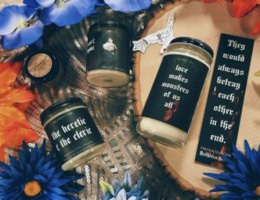 "Bookish Spotlights: Review of Alchemy & Ink's ""Dark Academia"" May Box"