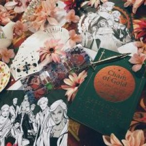 Bookish Spotlights: Review of Illumicrate's Glamour and Gold Special Edition Box
