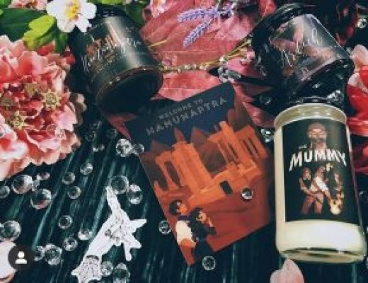 "Bookish Spotlights: Review of Alchemy & Ink's ""The Mummy"" June Box"